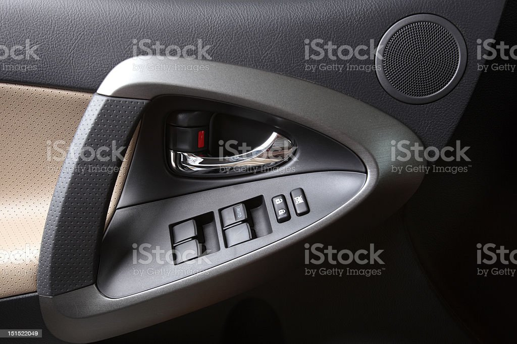 Door Panel royalty-free stock photo