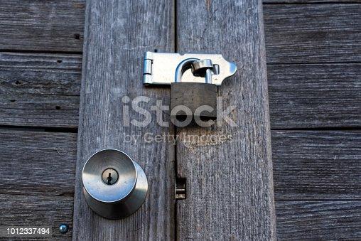 istock Door 1012337494