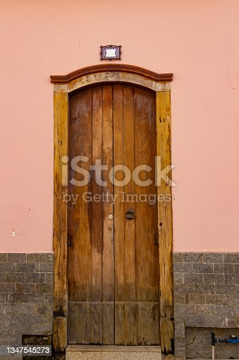 istock A door. 1347545273