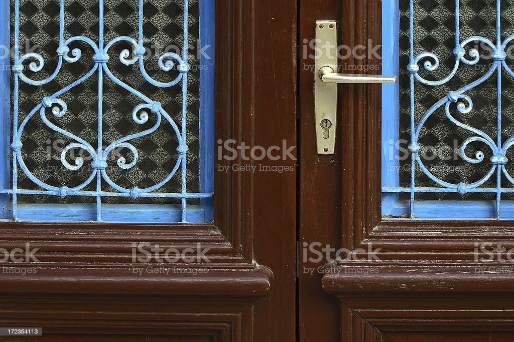 Puerta foto de stock libre de derechos