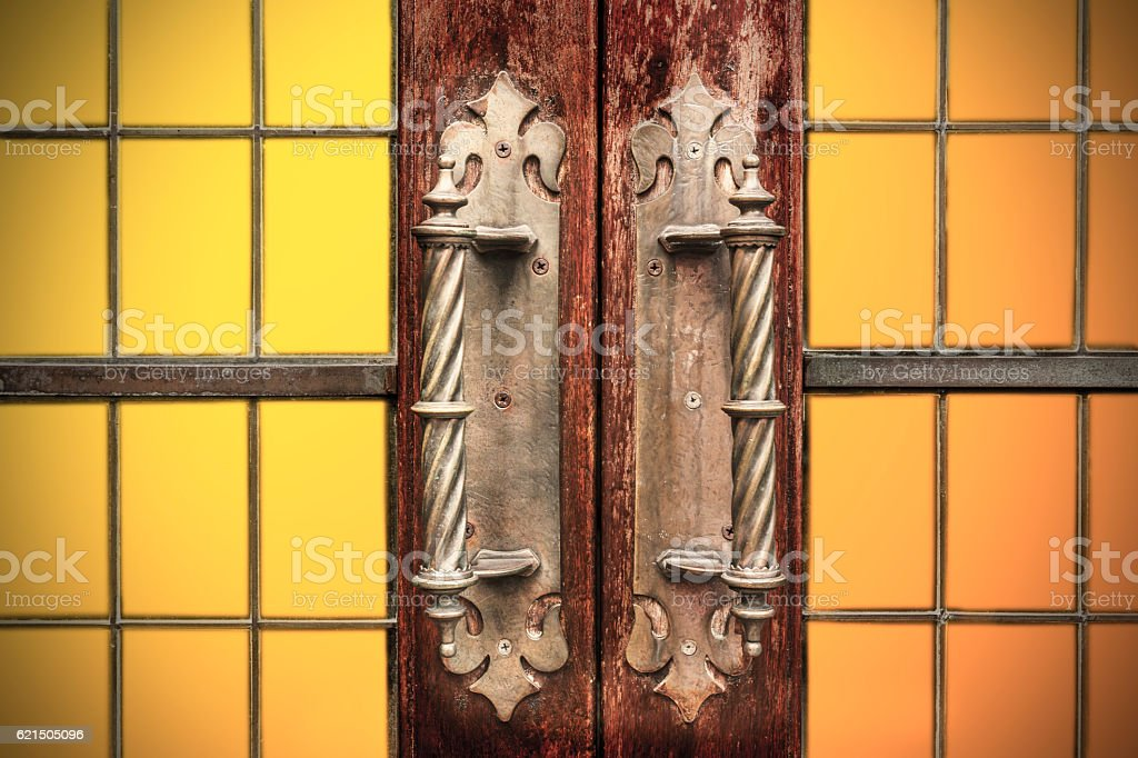Porta  foto stock royalty-free