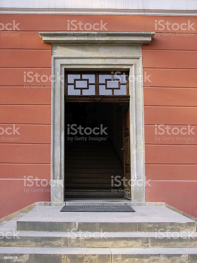 door royalty free stockfoto