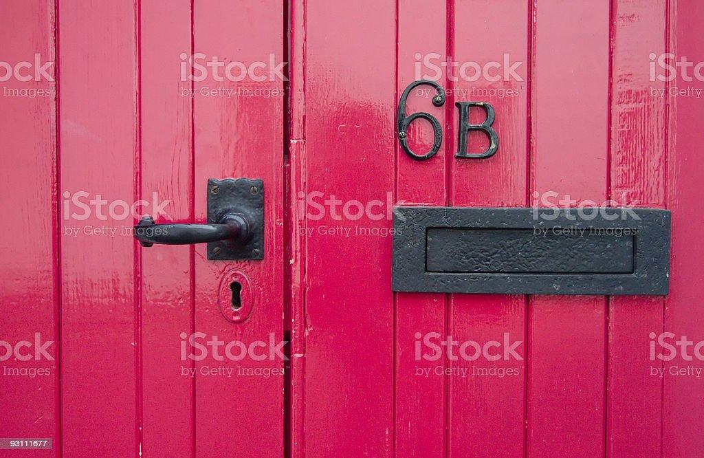 door - Royalty-free Ahşap Stok görsel