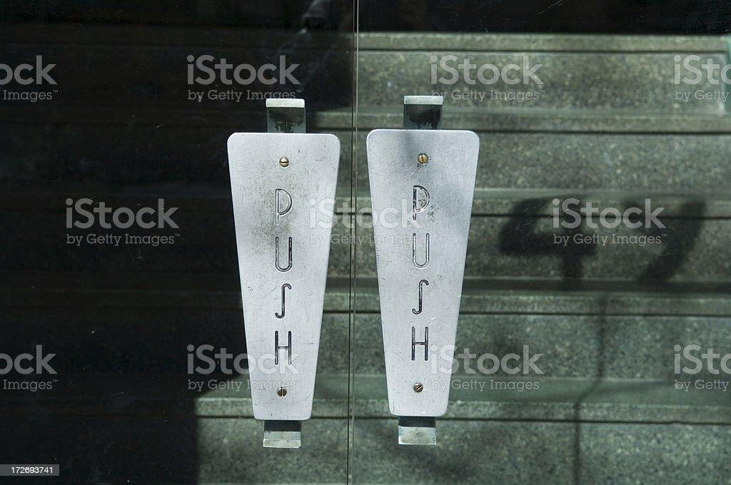 Tür push – Foto