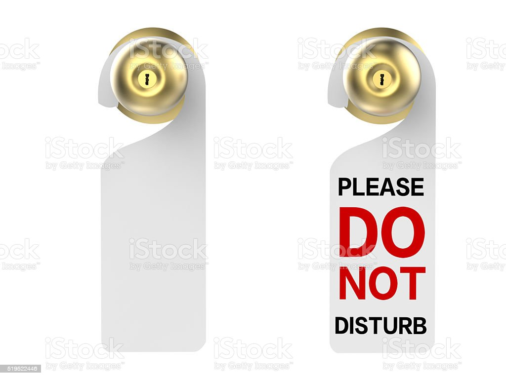 door sign stock photo