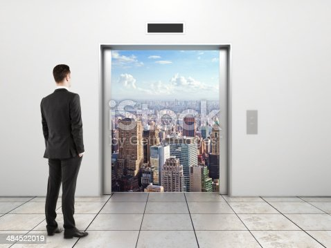 638591126 istock photo door to city 484522019