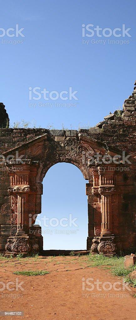Door to heaven royalty-free stock photo