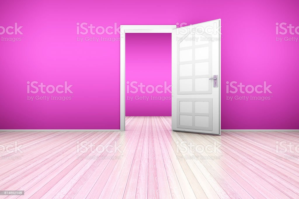 Door to Nightfall stock photo