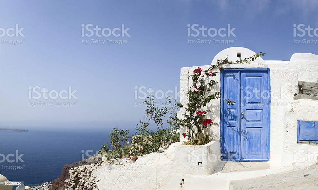 Door to nowhere royalty-free stock photo