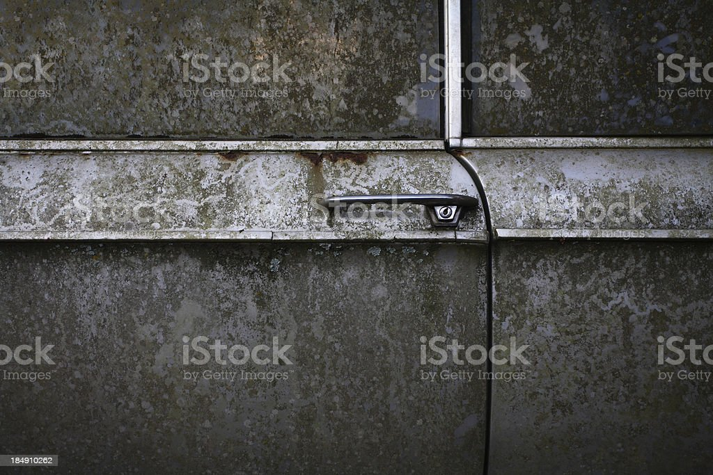 Door to the past royalty-free stock photo