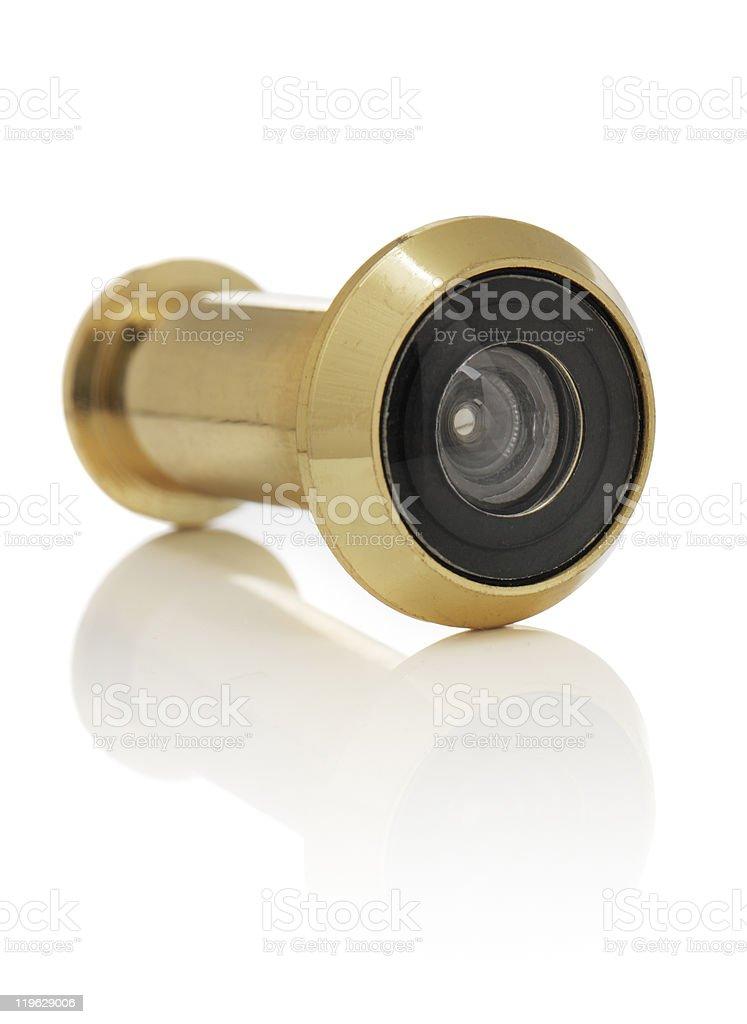 Door viewer royalty-free stock photo