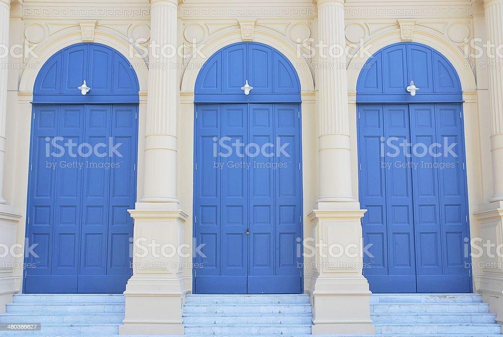 Door vintage stock photo