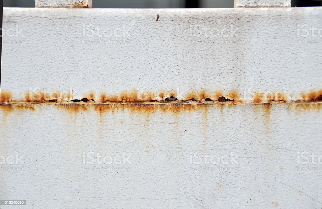 door with rust stock photo