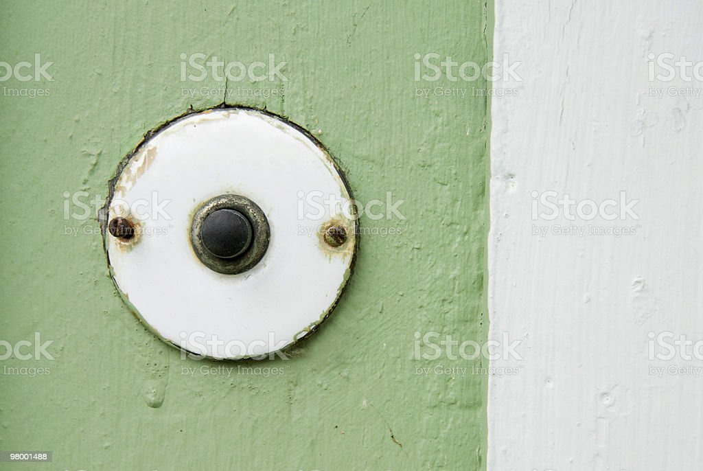 Doorbell royalty-free stock photo