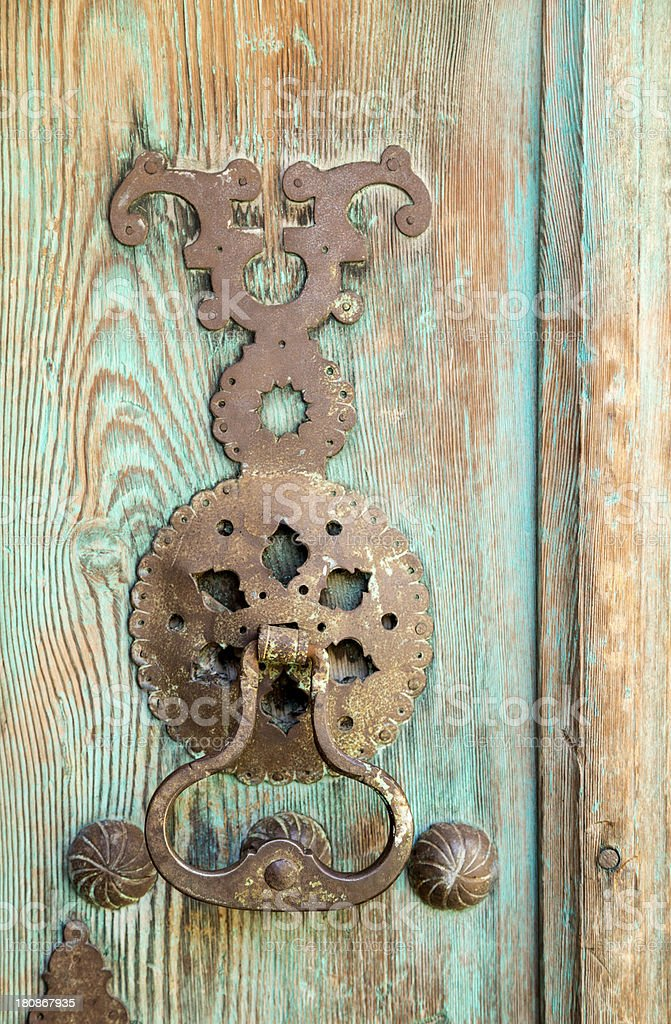 Doorknob royalty-free stock photo