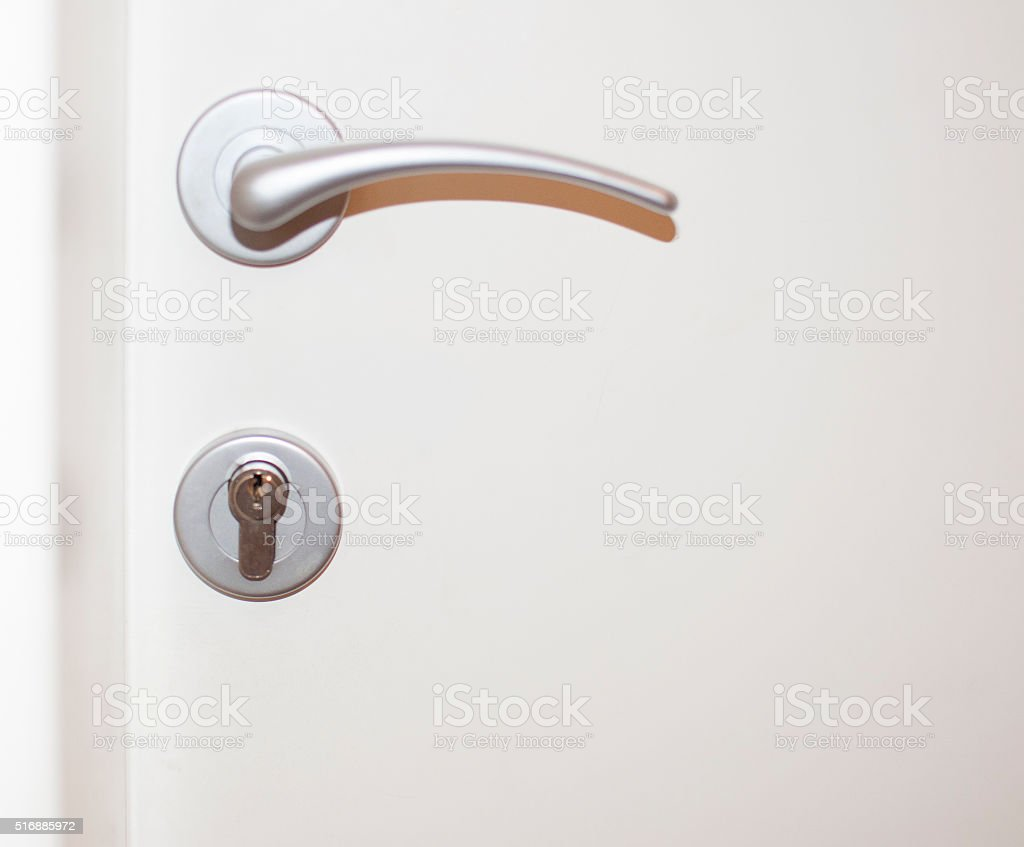 Doorknob stock photo