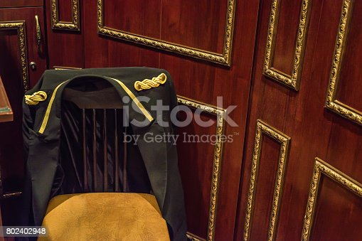 840883328 istock photo Doorman's place in the hotel 802402948