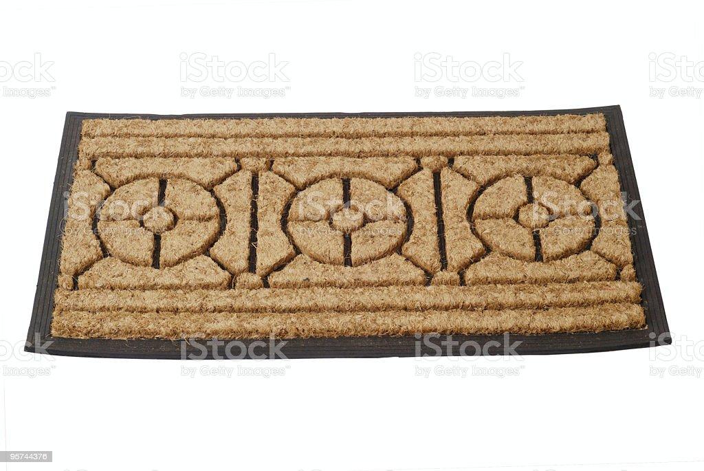 doormat royalty-free stock photo