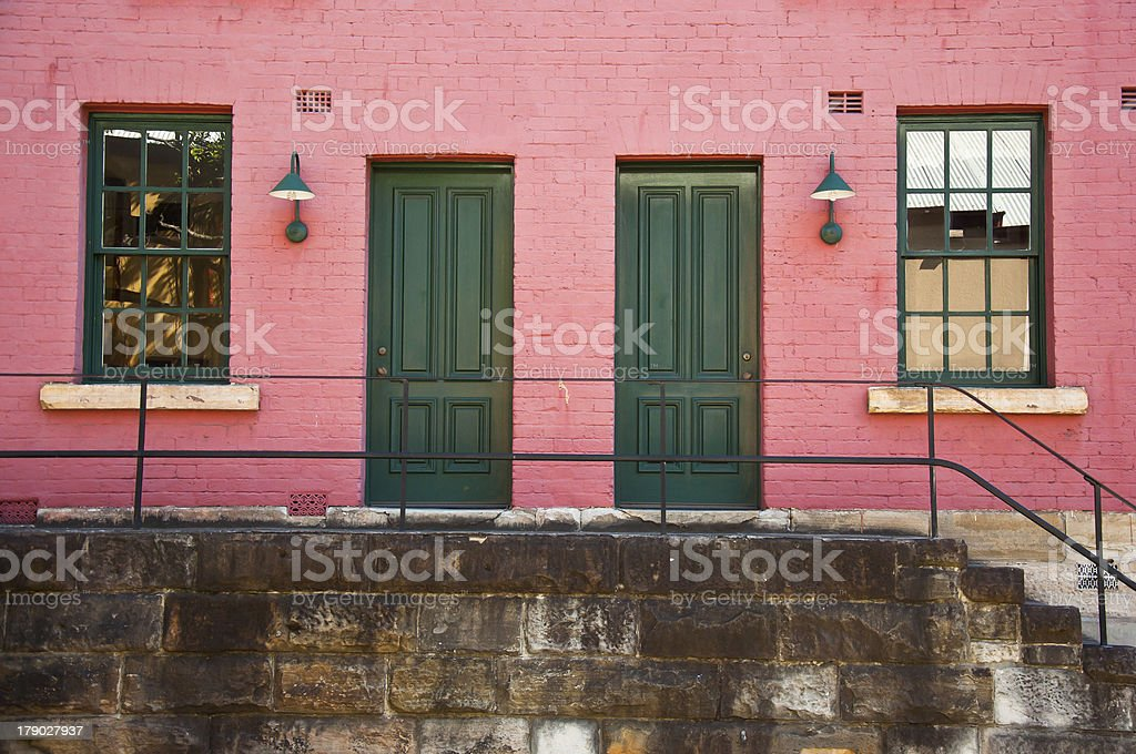 doors and windows royalty-free stock photo