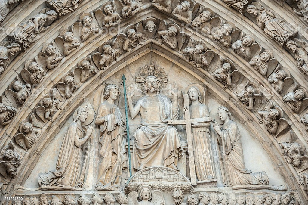 Doors Of Notre Dame Paris France Stock Photo Download Image Now