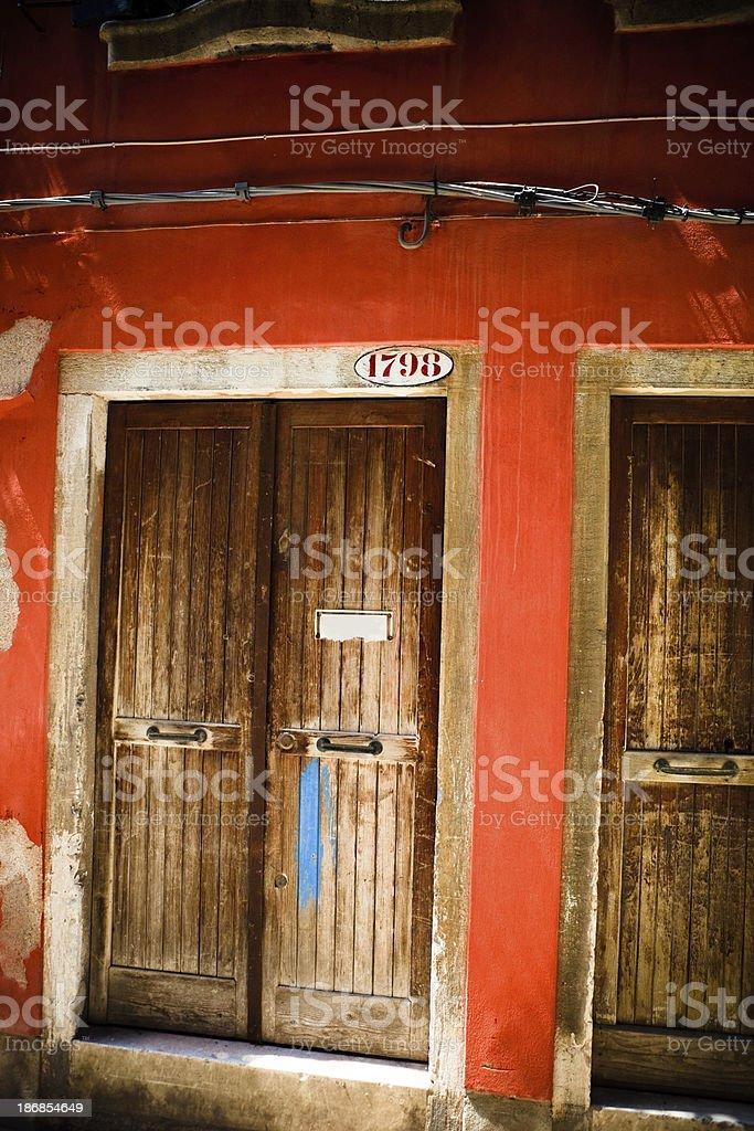 doors of venice royalty-free stock photo