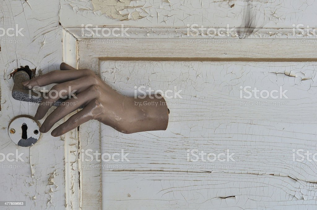 doors open that should be shut royalty-free stock photo
