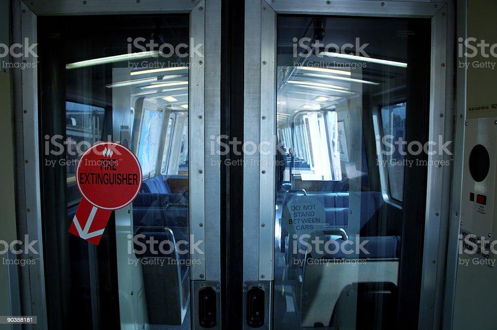 BART doors stock photo