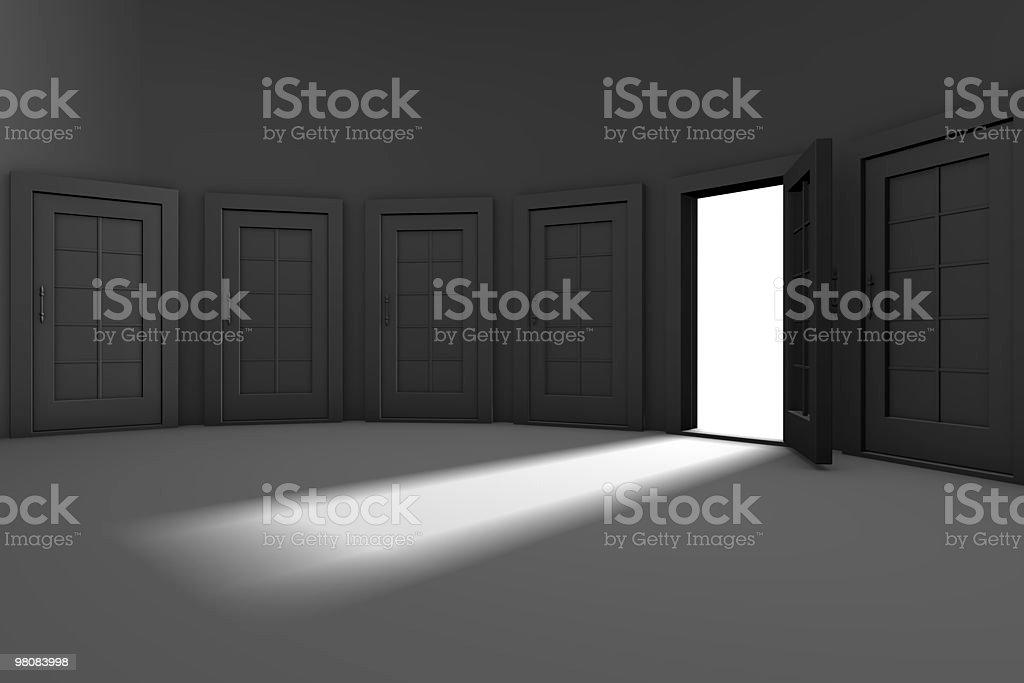 Doors royalty-free stock photo
