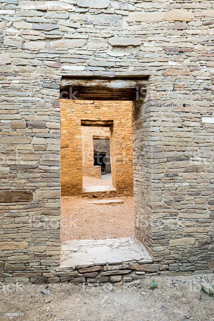 Doors within Doorways stock photo