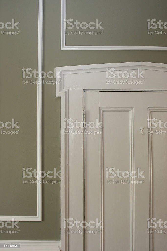 Doorway c.1885 royalty-free stock photo
