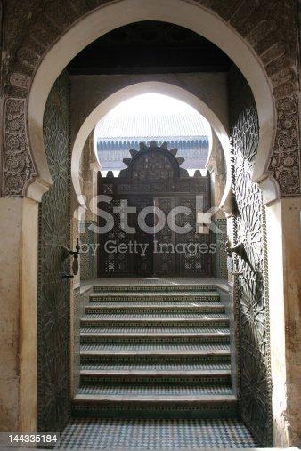 istock Doorway in Marrakech 144335184