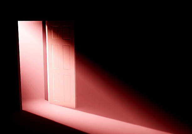 Doorway light  deathly stock pictures, royalty-free photos & images