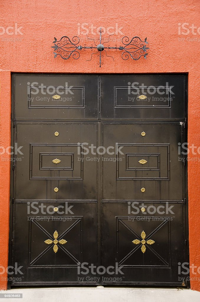 Doorway royalty-free stock photo