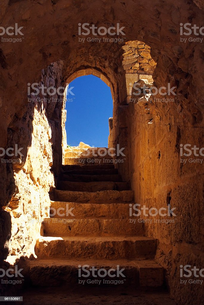 Doorway to a New Life. royalty-free stock photo