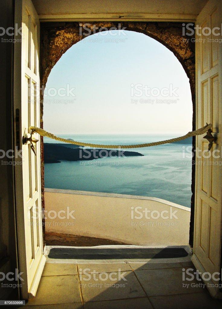 Doorway to Heaven stock photo