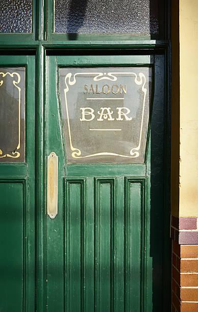 Doorway To Sydney Pub stock photo
