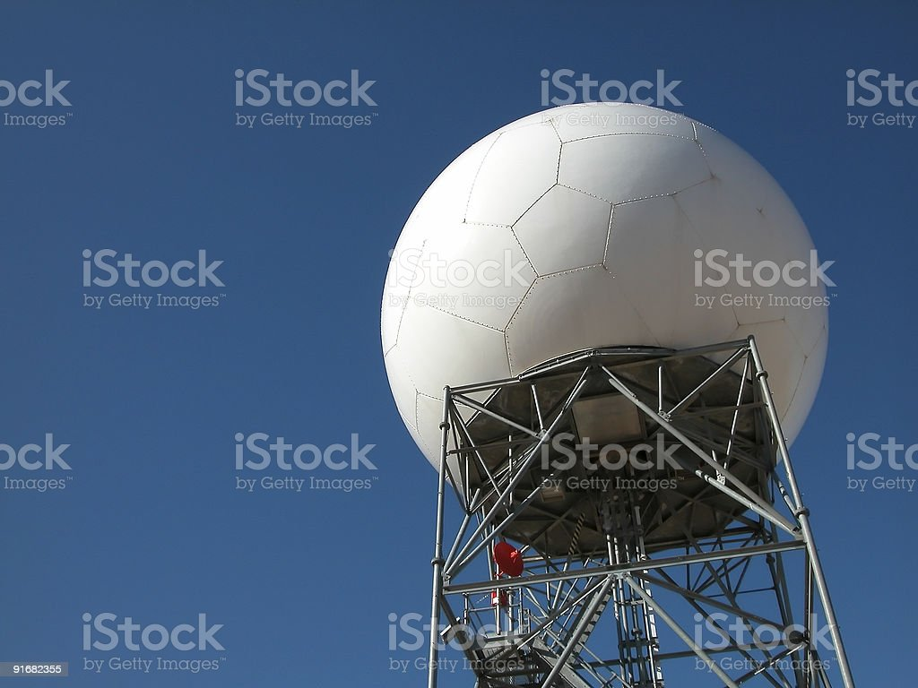 Doppler Radar Array royalty-free stock photo