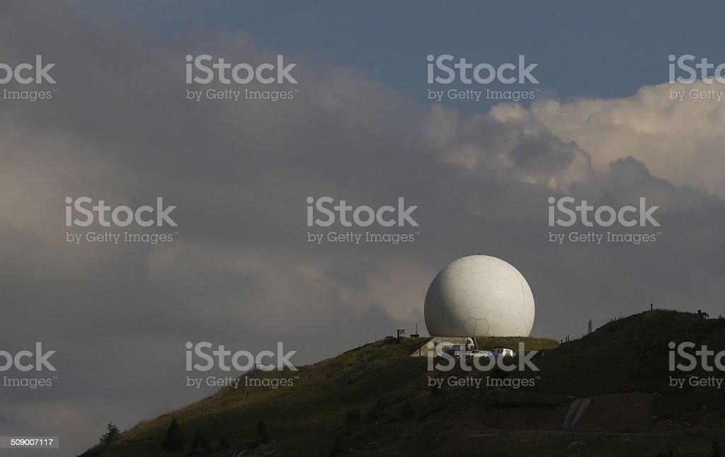 Doppler Radar Weather stock photo