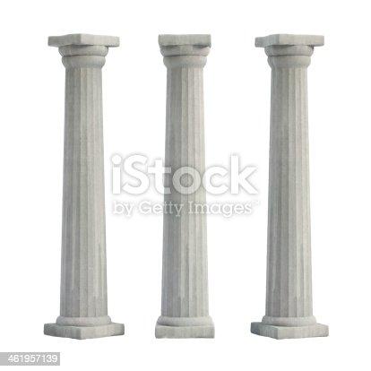 istock Doric Columns 461957139