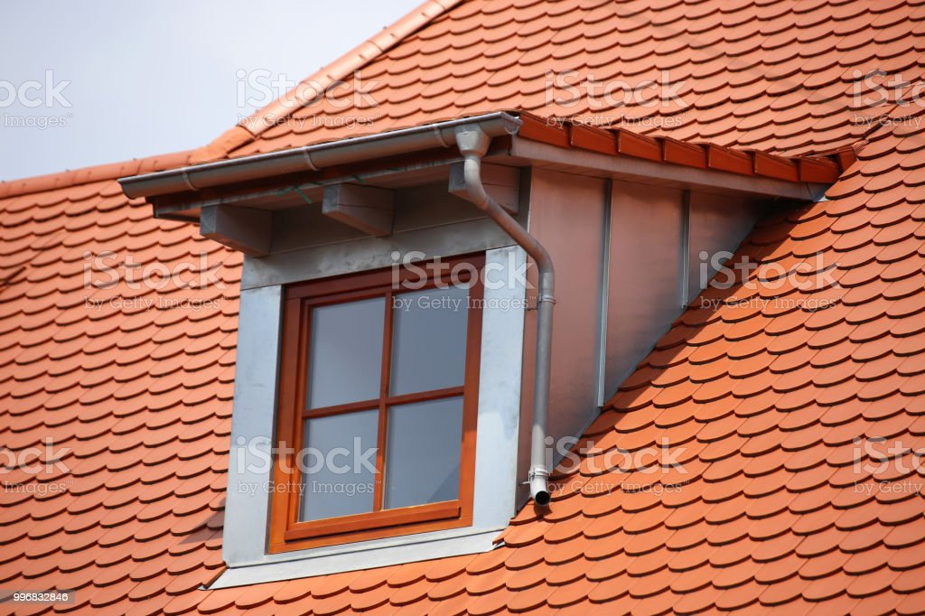 Dormer With Stainless Steel Cladding Stock Photo & More