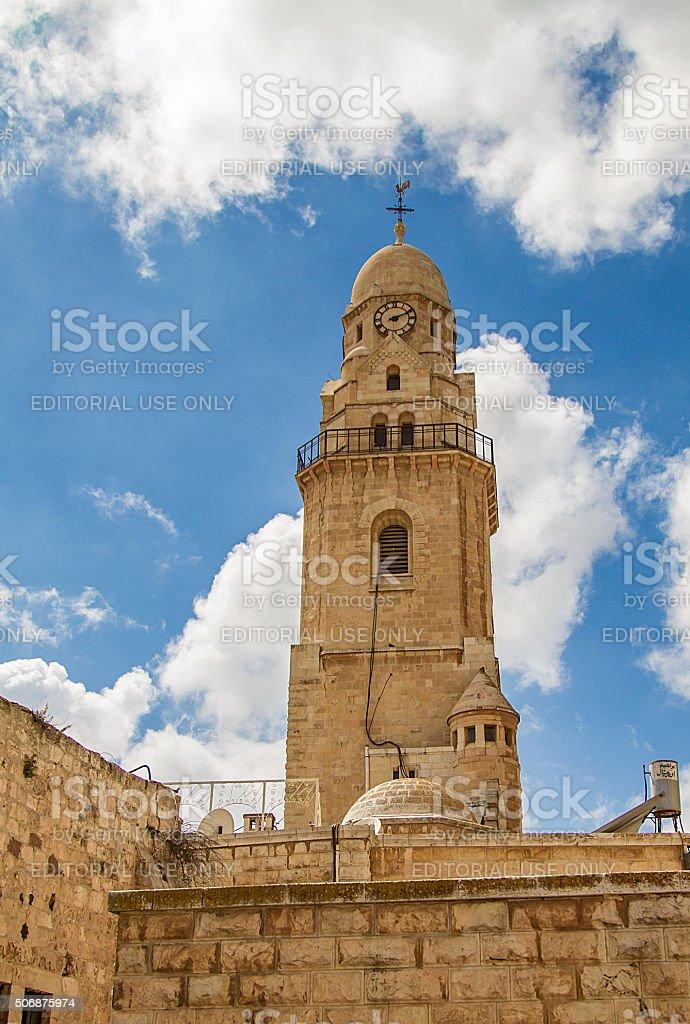 Dormición Abbey, bell tower - foto de stock