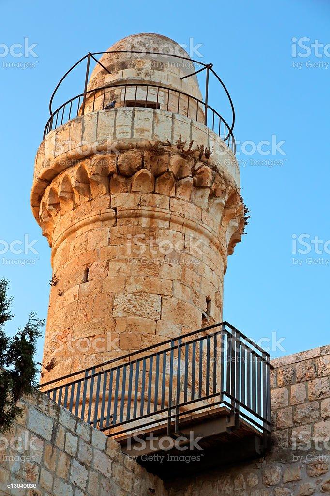 Abadía de dormición, Jerusalén - foto de stock