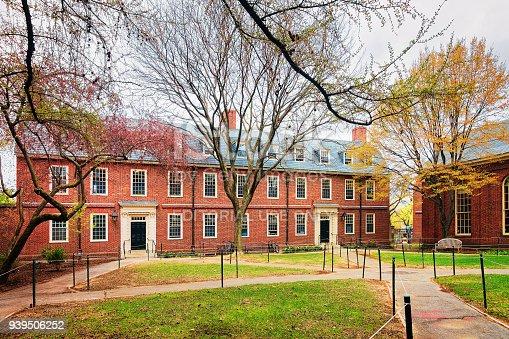 683709204istockphoto Dormitory building in Harvard Yard Harvard University Cambridge 939506252
