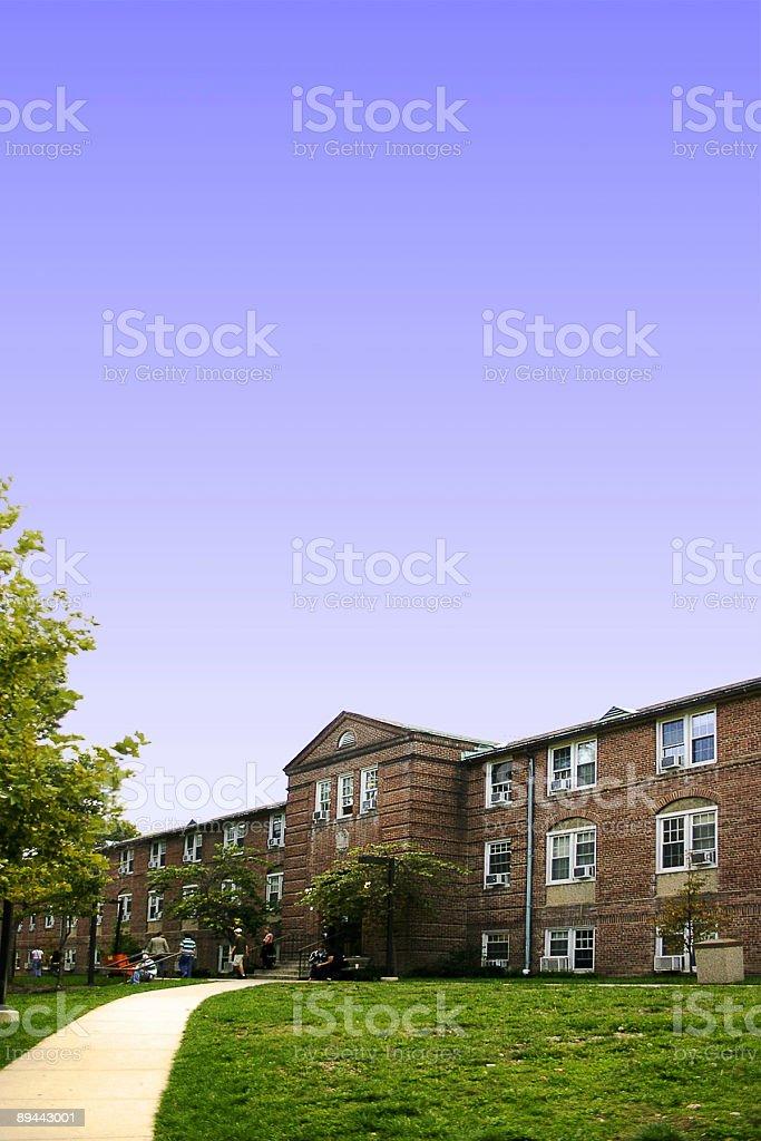 Dormitory royalty-free stock photo