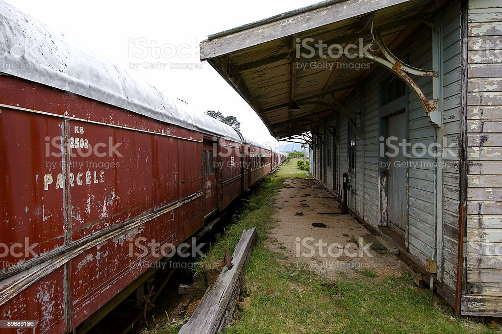 Dorrigo Station royalty-free stock photo