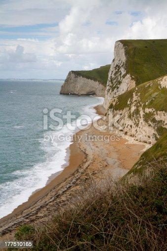 istock Dorset coastline looking towards Portland 177510165