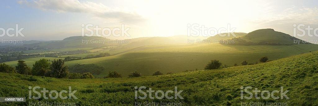Dorset Dawn stock photo