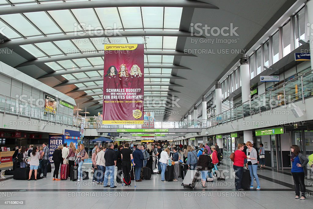 Dortmund Airport royalty-free stock photo