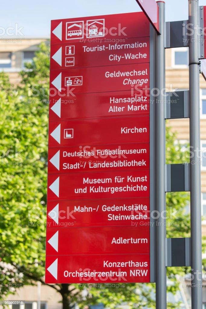 dortmund city signs germany - Royalty-free City Stock Photo