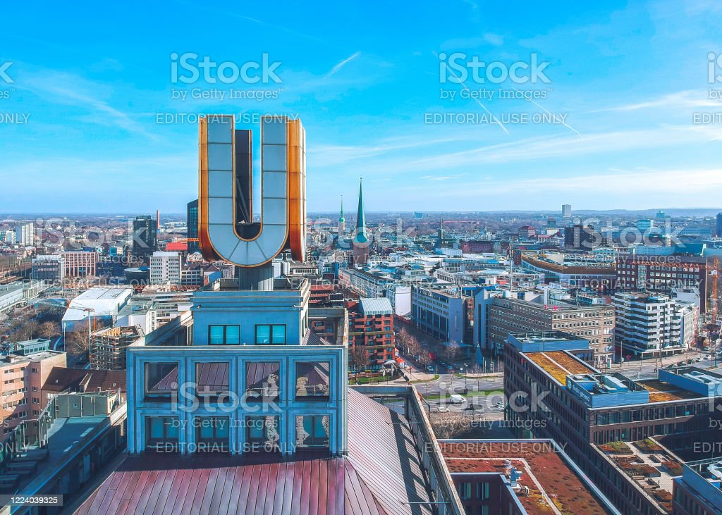 Dortmund Cityscape Stock Photo Download Image Now IStock